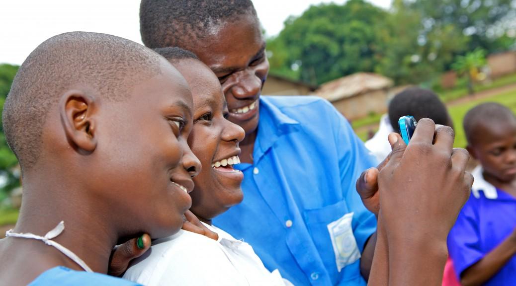 Media Visit at Uganda