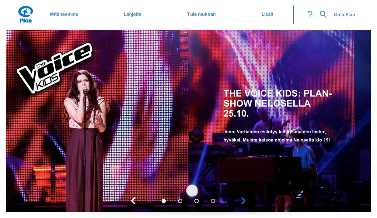 Jenni Vartiainen @ The Voice of Kids: Plan-show