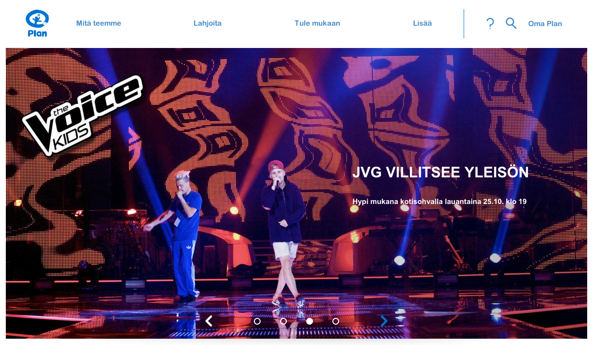 JVG @ The Voice of Kids: Plan-show