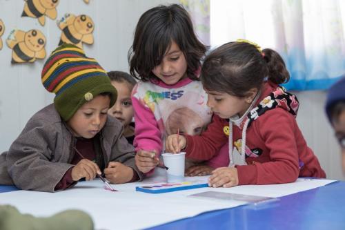 Varhaiskasvatusta pakolaislapsille
